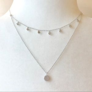 Delicate Sterling Silver Layered Necklace